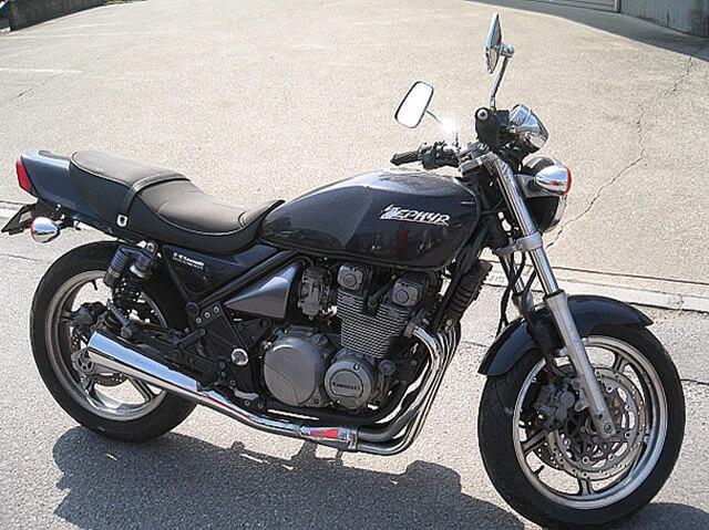カワサキ ゼファー400 ブラック